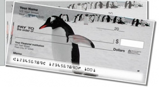 Click on Animals of Antarctica Side Tear Personal Checks For More Details