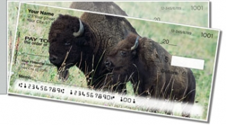Click on American Bison Side Tear Personal Checks For More Details
