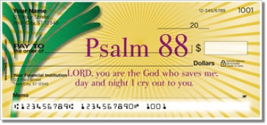 Click on Psalms Personal Checks For More Details