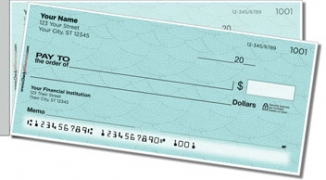 Click on Blue Stipple Side Tear Personal Checks For More Details