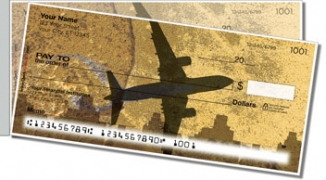 Click on Airplane Side Tear Personal Checks For More Details