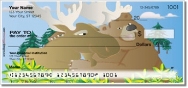 Click on Moose & Bear Personal Checks For More Details