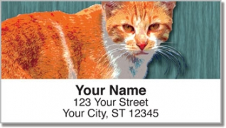 Click on Alley Cat Address Labels For More Details