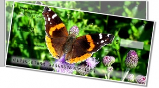 Click on Butterfly & Moth Side Tear Personal Checks For More Details