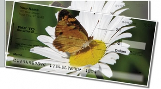 Click on Butterfly Garden Side Tear Personal Checks For More Details