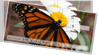 Click on Monarch Butterfly Side Tear Personal Checks For More Details