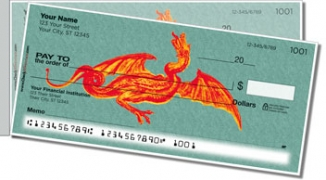 Click on Ancient Dragon Side Tear Personal Checks For More Details