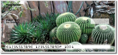 Click on Cactus Garden Personal Checks For More Details