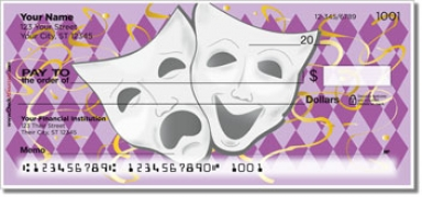 Click on Drama Mask Personal Checks For More Details