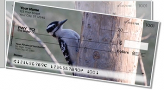 Click on Woodpecker Side Tear Personal Checks For More Details
