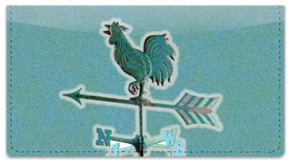 Click on Weather Vane Checkbook Cover For More Details