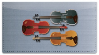 Click on Violin Checkbook Cover For More Details