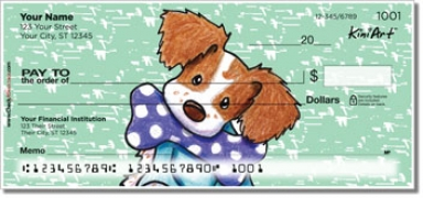 Click on Brittany Spaniel Series Personal Checks thumbnail to view the product detail page