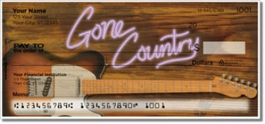Click on Gone Country Personal Checks For More Details