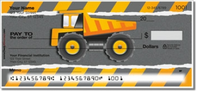 Click on Construction Truck Personal Checks For More Details