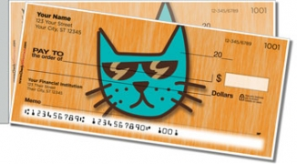 Click on Cool Cat Side Tear Personal Checks For More Details
