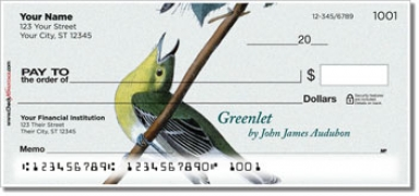 Click on Audubon Bird Personal Checks For More Details