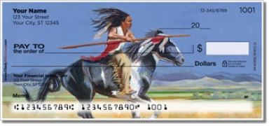 Click on Madaras Native American Personal Checks For More Details