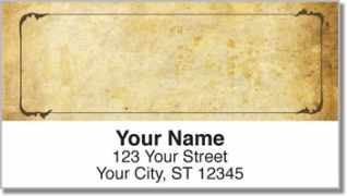 Click on Aged Parchment Address Labels For More Details