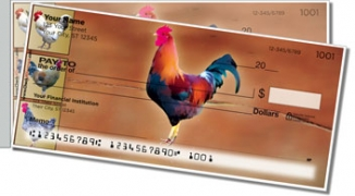 Click on Rooster Side Tear Personal Checks For More Details