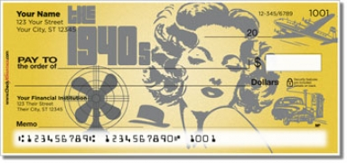 Click on The 1940's Personal Checks For More Details