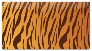 Click on Tiger Stripe Checkbook Cover For More Details
