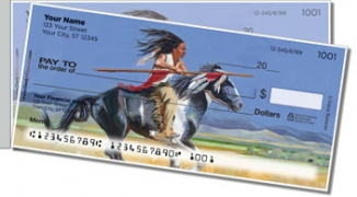Madaras Native American Side Tear Personal Checks