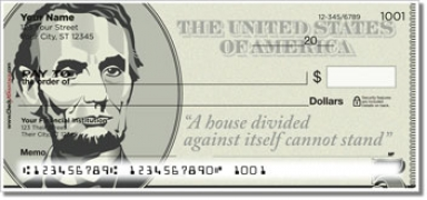 Click on Abraham Lincoln Personal Checks For More Details