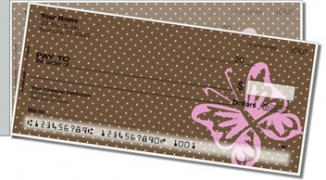 Click on Butterfly Design Side Tear Personal Checks For More Details