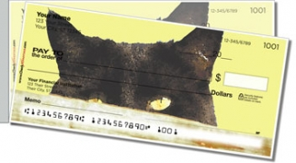 Click on Sleepy Cat Side Tear Personal Checks For More Details