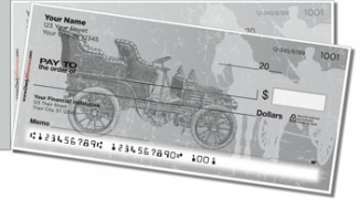 Click on Antique Automobile Side Tear Personal Checks For More Details