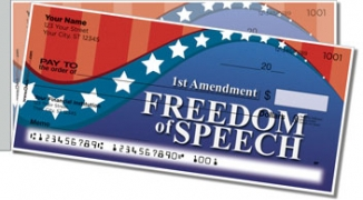 Click on Bill of Rights Side Tear Personal Checks For More Details