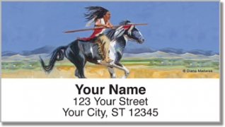 Click on Madaras Native American Address Labels For More Details