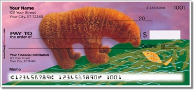Click on Fuzzy Bear Personal Checks For More Details
