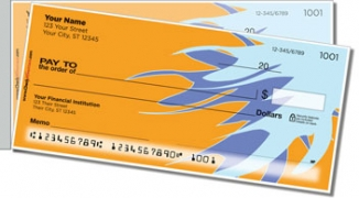 Click on Bursts of Color Side Tear Personal Checks For More Details