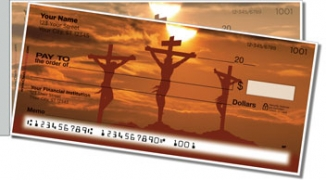Click on Calvary Cross Side Tear Personal Checks For More Details