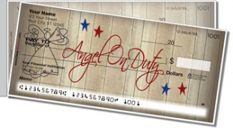 Click on Country Angel Side Tear Personal Checks For More Details