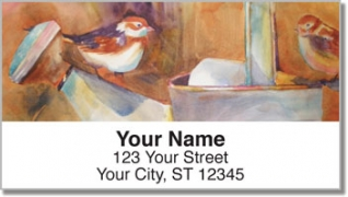 Click on Kay Smith Bird Address Labels For More Details