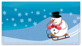 Click on Snowman Checkbook Cover For More Details