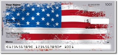 Click on American Flag Personal Checks For More Details