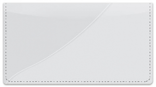 Click on Silver Curve Checkbook Cover For More Details