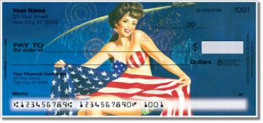 Click on Pin Up Girl Personal Checks For More Details