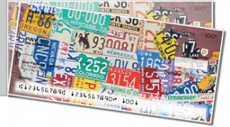Click on California License Plate Side Tear Personal Checks For More Details