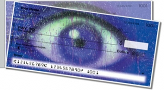 Click on Eyes for Art Side Tear Personal Checks For More Details
