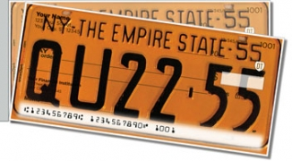 Click on New York License Plate Side Tear Personal Checks For More Details