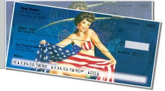 Click on Pin Up Girl Side Tear Personal Checks For More Details