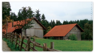 Click on Rustic Building Checkbook Cover For More Details