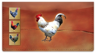Click on Rooster Checkbook Cover For More Details