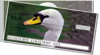 Click on Swan Song Side Tear Personal Checks For More Details