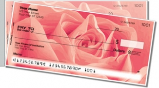 Click on Rosebud Side Tear Personal Checks For More Details